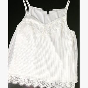 WHBM Woman's Lace Cami | Tank Top | Worn One Time